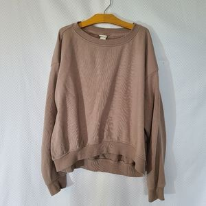 H&M pink/purplish oversized comfy sweater